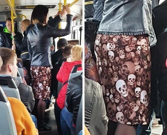 Странные люди в общественном транспорте