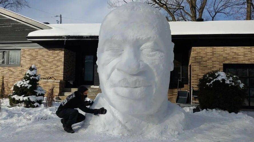 Страшные снеговики