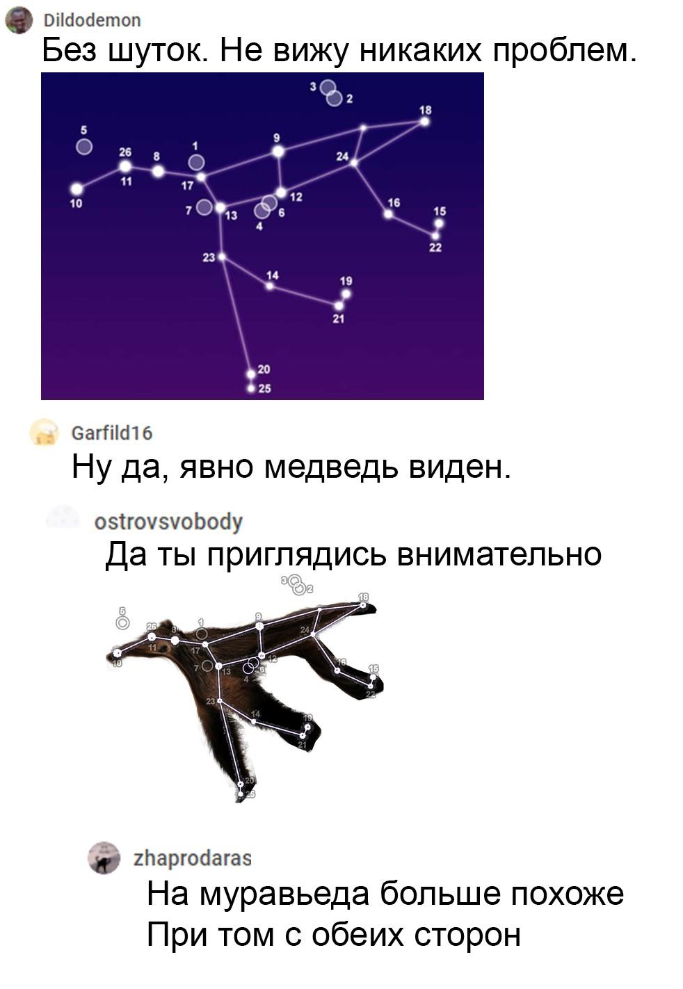 Созвездия и парень, придумавший их