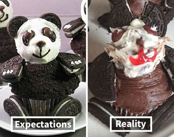 Ожидание/реальность на кухне