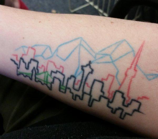 Когда татуировки реально крутые