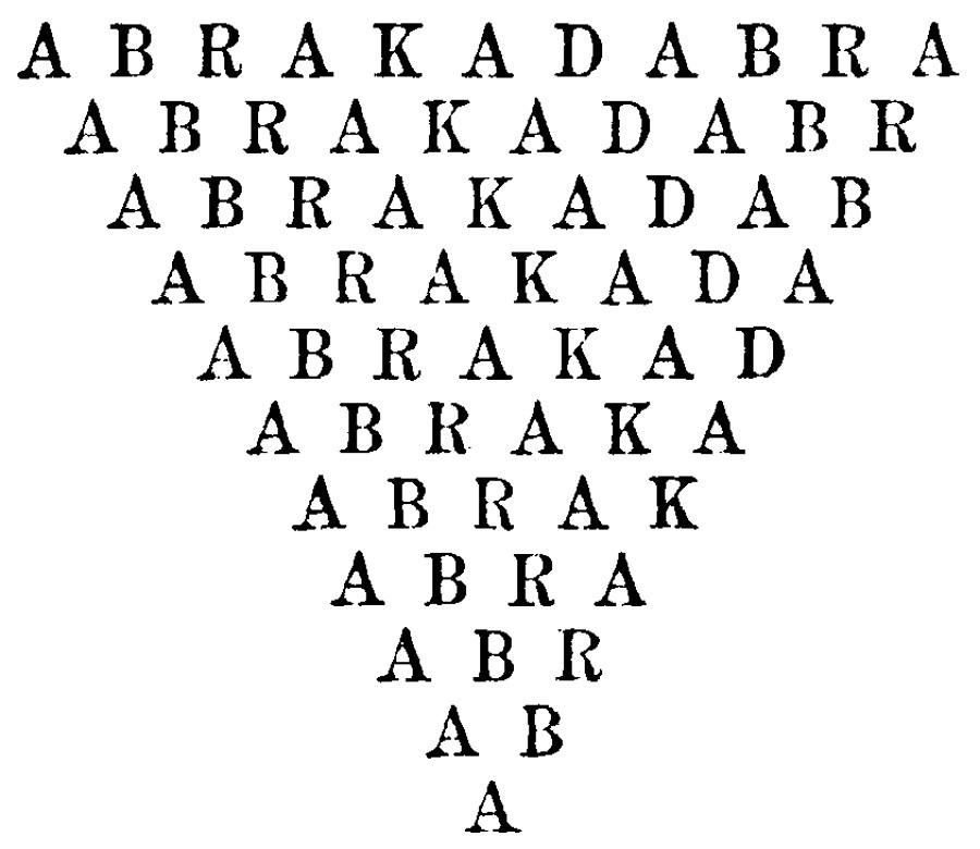 Абракадабра?