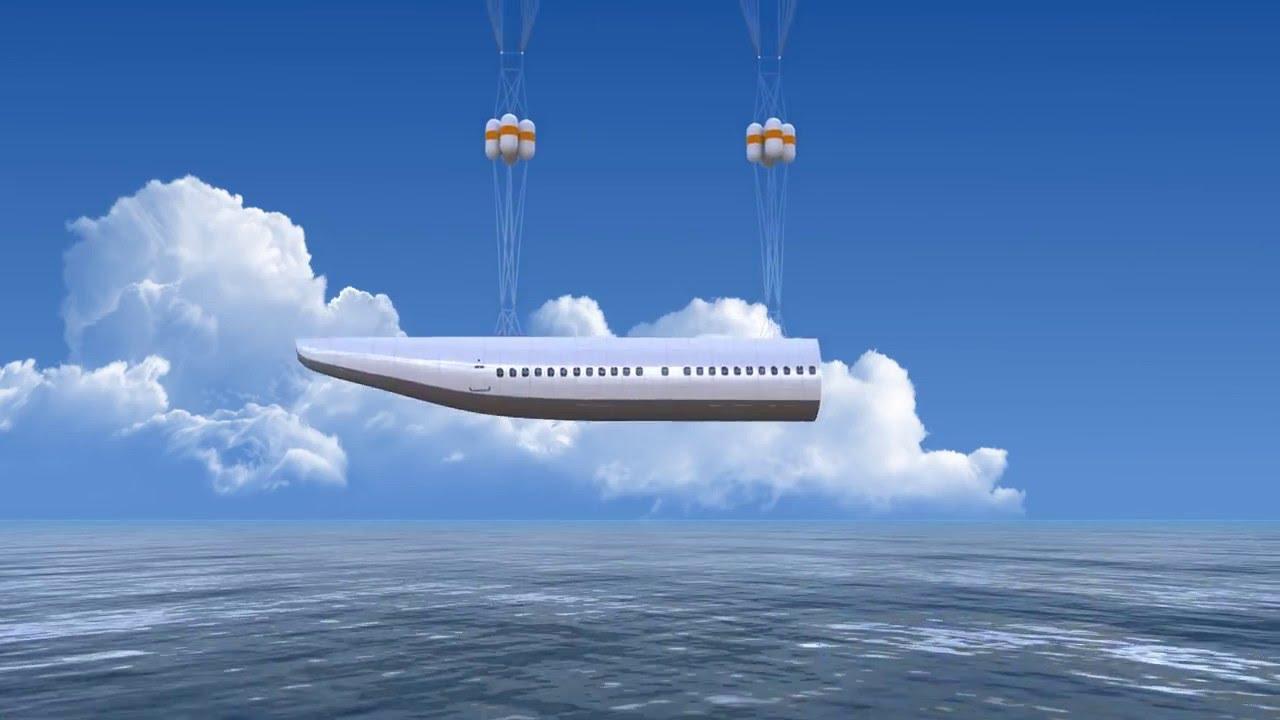 Необычный концепт самолета с капсулой