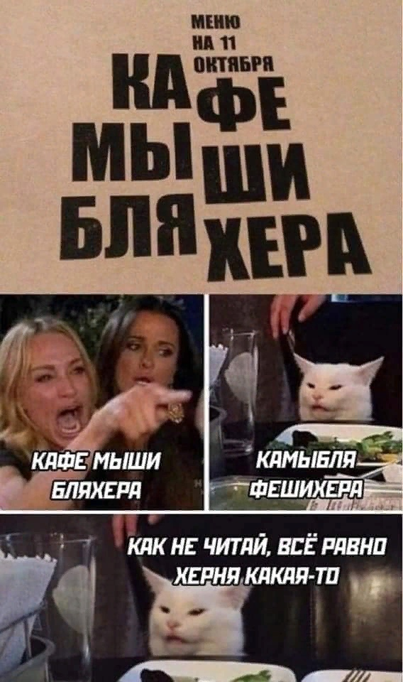 Блондинка и котик