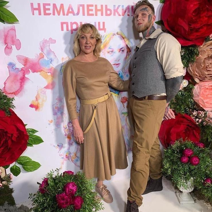 Елена Яковлева с сыном