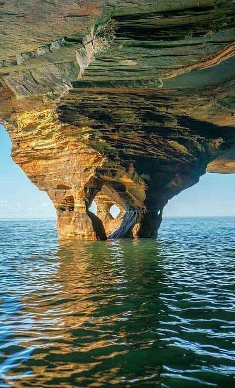 Апостольские острова. Штат Висконсин. США