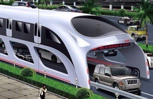 В Китае разработан электрический суперавтобус