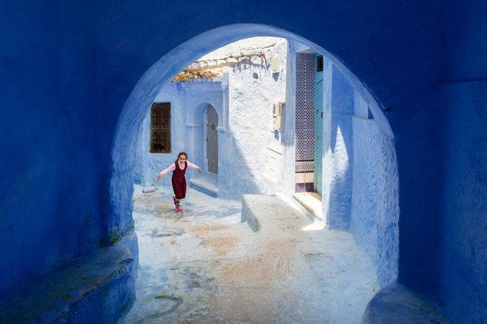 Старый марокканский город в горах