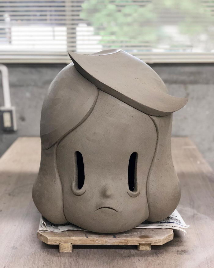 Необычные керамические скульптуры из Японии