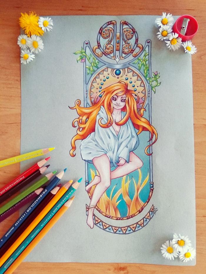 Великолепные иллюстрации художницы из Франции