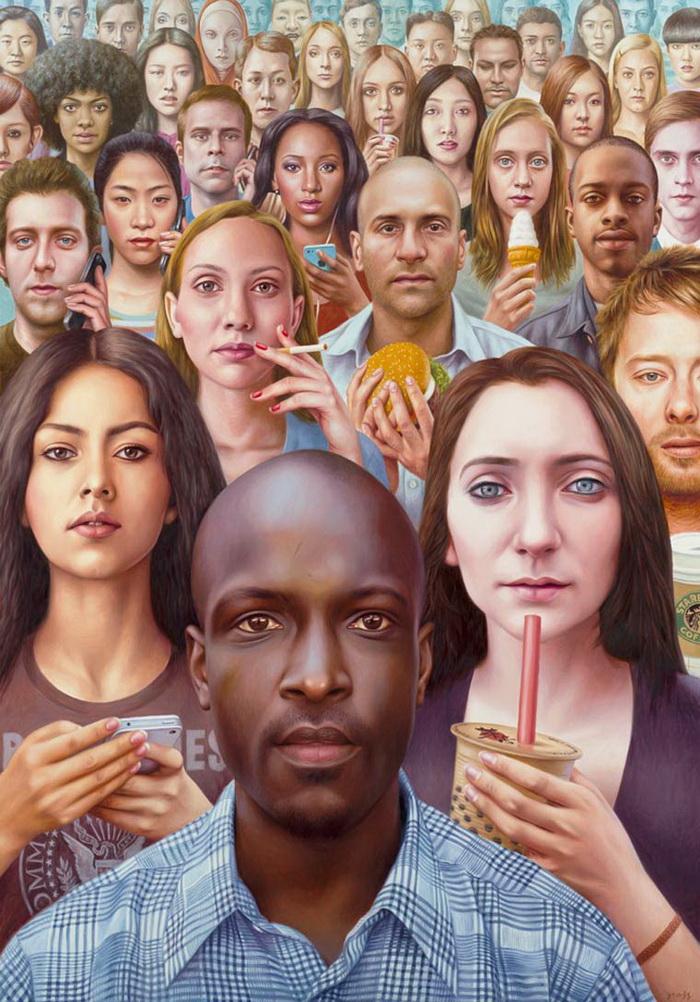 Картины о «людях будущего»
