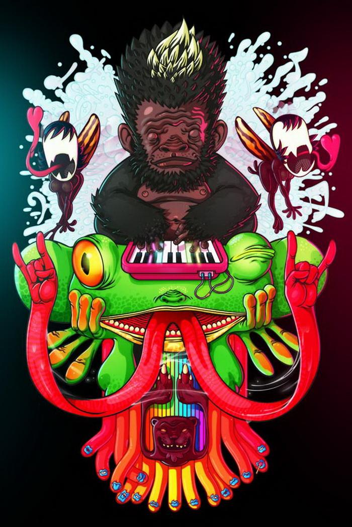 Художник из Мексики и его агрессивные работы