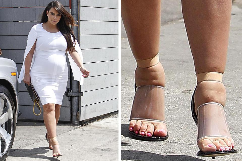 Ким Кардашьян рассказала о бодишейминге во время первой беременности