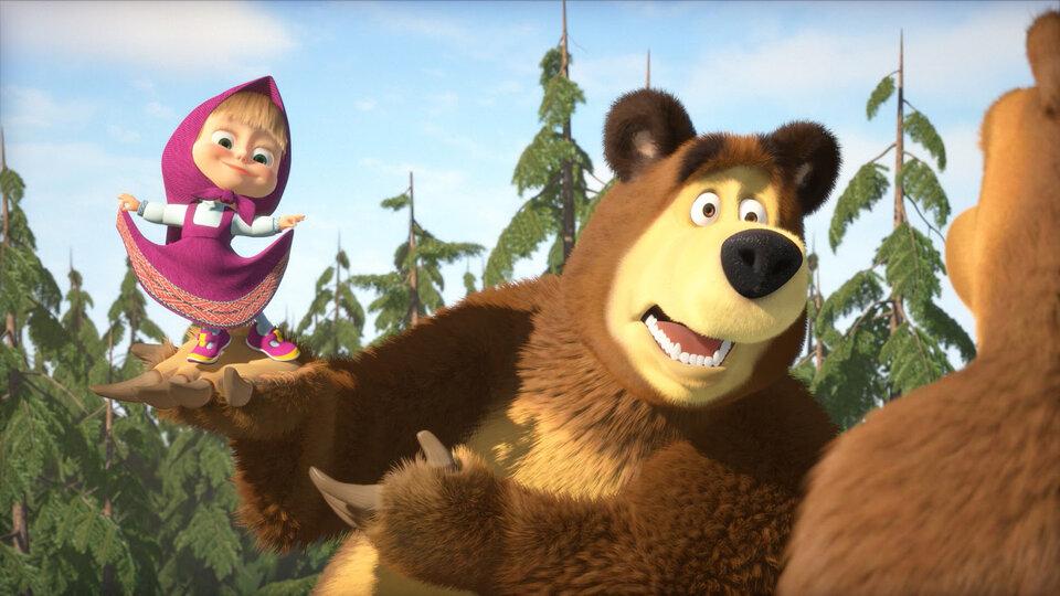 «Маша и Медведь» стал самым популярным детским мультсериалом в мире