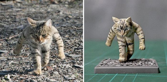 Очень забавные работы скульптора из Японии