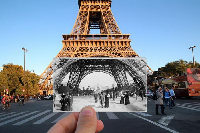 Старый Париж и современность