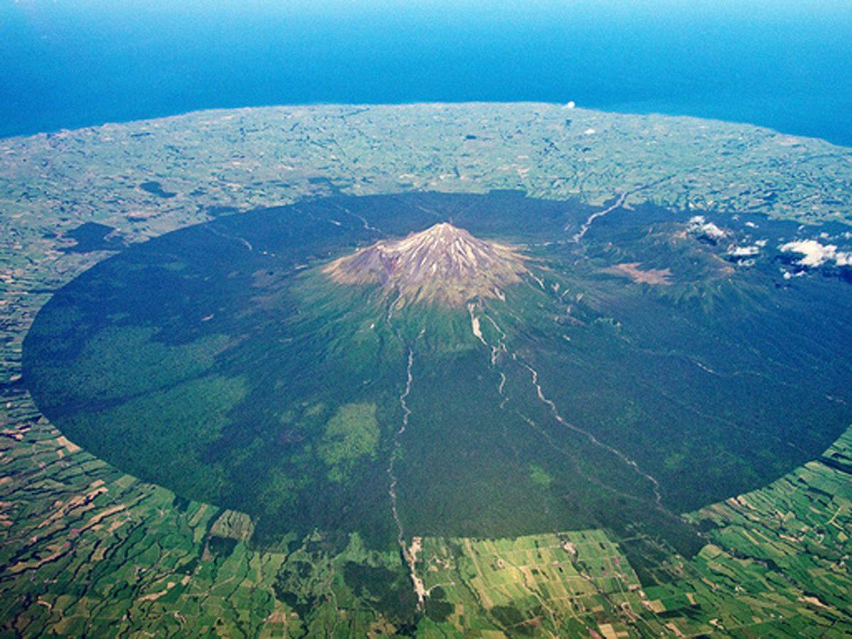 Вулкан в Новой Зеландии