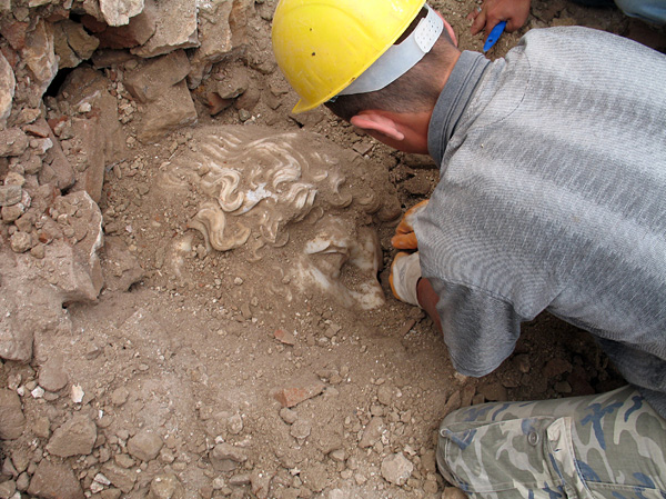 Археологами найден памятник в Турции