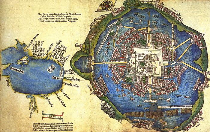 Древнейший город Мексики
