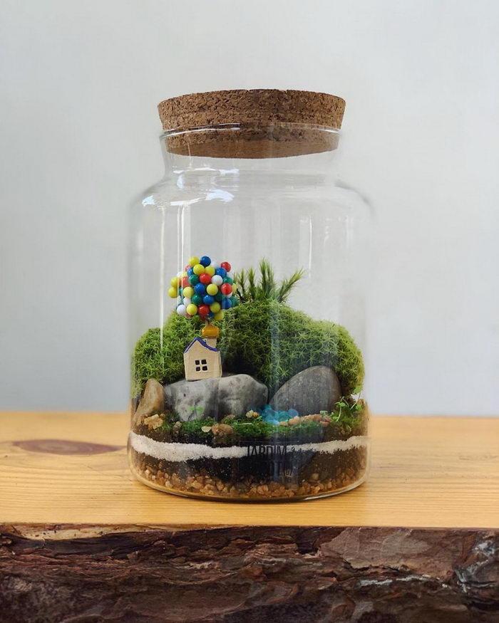 Кусочек джунглей размером с вазу