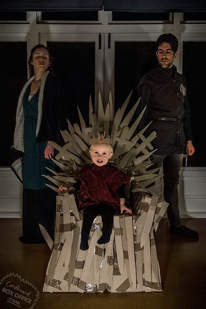 Ребенку повезло: у него действительно креативные родители