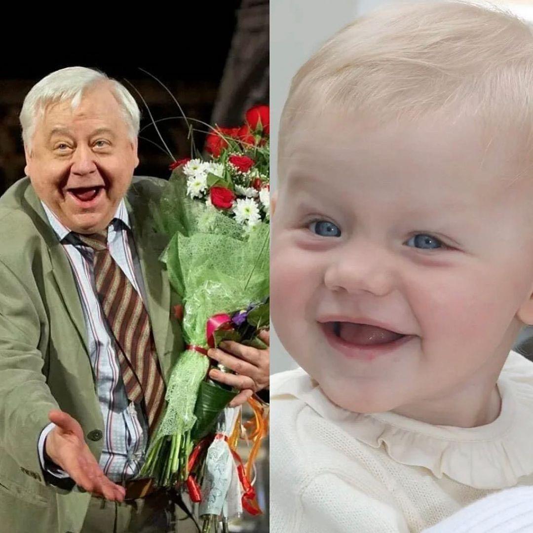 «Твоя улыбка» вдова Олега Табакова показала в день рождения покойного актера его внучку