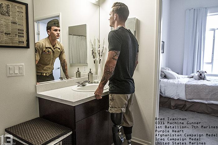 Мы думаем, что солдаты — это роботы, которые всегда ходят в форме…