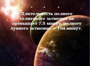 Пять интересных фактов о космосе.