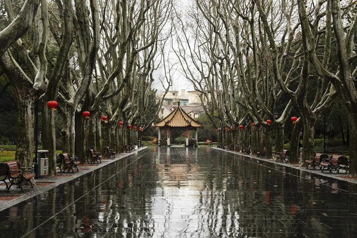 Безлюдный Шанхай