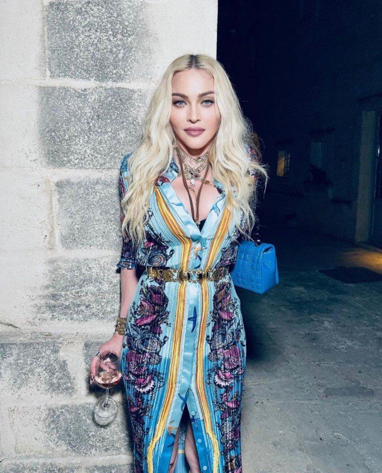 Мадонна отметила свой День Рождения с 27-летним возлюбленным