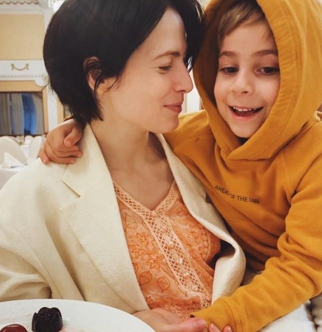 Юлия Снигирь показала 5-летнего сына от Цыганова