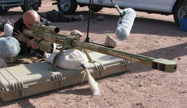 Сверхдальнобойная снайперская винтовка Anzio Mag-Fed 20mm