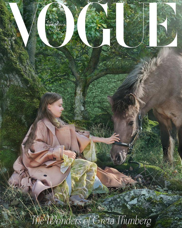 Грета Тунберг снялась для Vogue