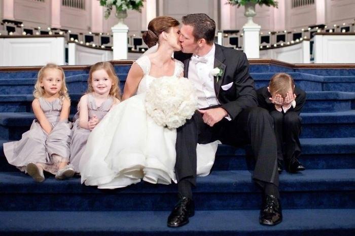 Кто самый искренний на свадьбе