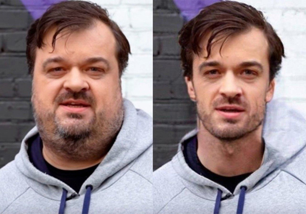 Как нейросеть меняет лица знаменитостей