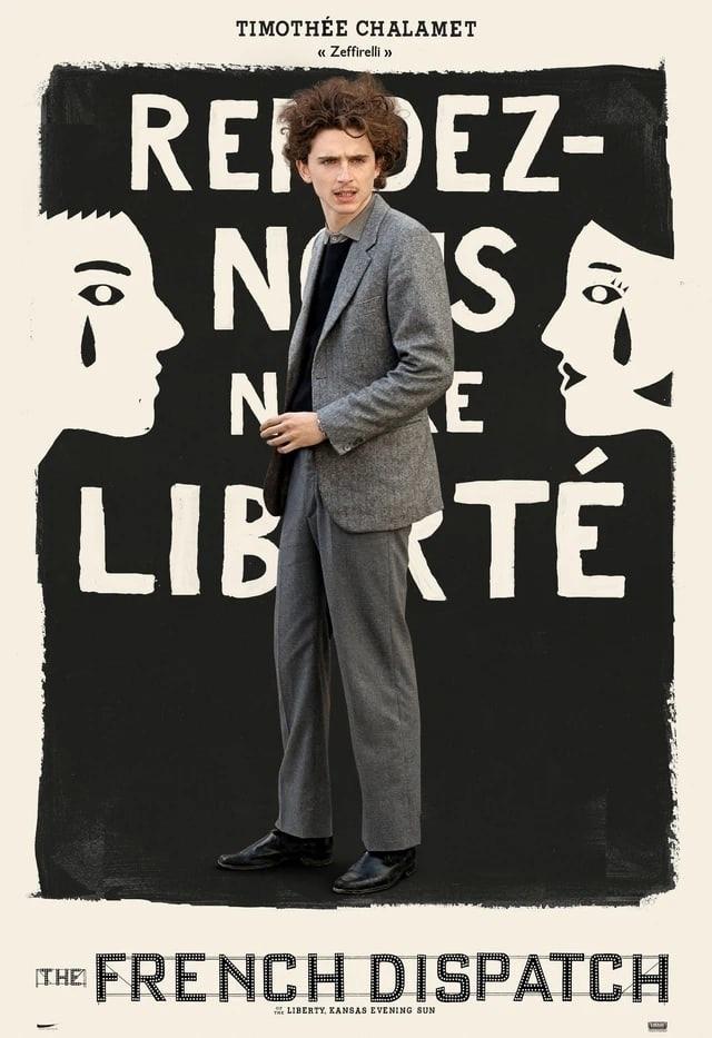 Появились постеры к «Французскому вестнику»