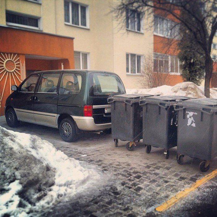 Народные мстители против неправильной парковки